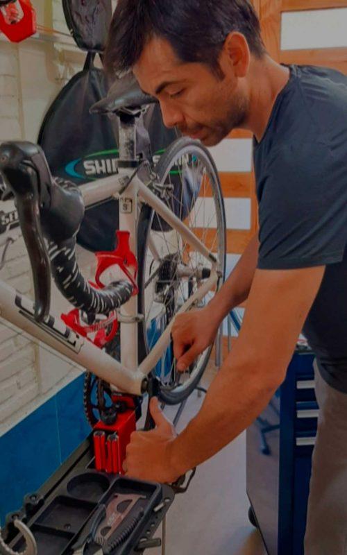mantenimiento de bicicletas